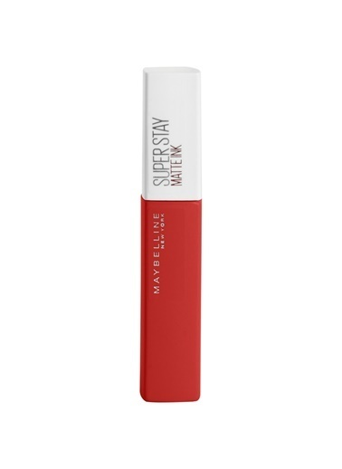 Maybelline Maybelline New York Super Stay Matte Ink City Edition Likit Mat Ruj - 118 Dancer Kırmızı